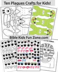 passover masks 10 plagues moses bible lessons crafts activities and printables for