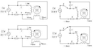 wiring diagram single phase induction motor winding diagram with