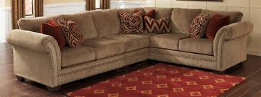 Tufted Sofa With Chaise by Chair U0026 Sofa Have An Interesting Living Room With Ashley