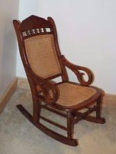 Bamboo Rocking Chair Rattan Rocking Chair Ebay