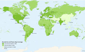 At T United States Coverage Map by World Boundaries And Places