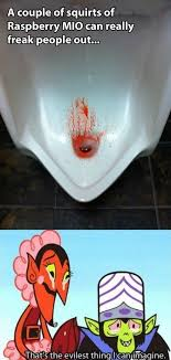 Blood Meme - meme 2014 fake pee blood