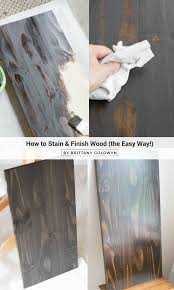 How To Refinish A Table Sand And Sisal by Best 25 Wood Stain Colors Ideas On Pinterest Stain Colors Wood