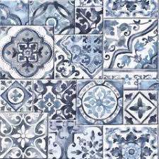deco4walls moroccan tile wallpaper ba2502