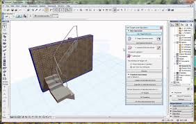 Stair Elements by Archicad Tutorial Seo Cutting A Wall Above A Stair