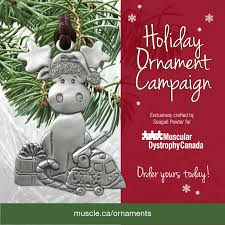 muscular dystrophy canada 2016 ornament yee wittle things