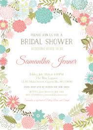 floral baby shower invites cloveranddot com