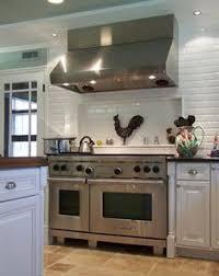 Subway Tile Designs For Backsplash by White Subway Tile With Accent Stripe Backsplash Pinterest