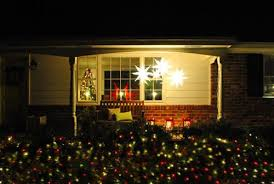 17 Clear Lighted Star Christmas Window Silhouette Decoration by 17