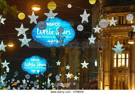 Christmas Decorations Oxford Street - oxford street christmas lights switched stock photos u0026 oxford