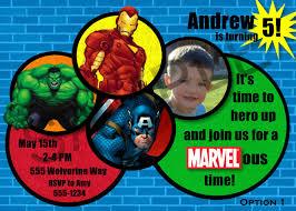 Unique Party Party Invitations Surprising Avengers Party Invitations Design
