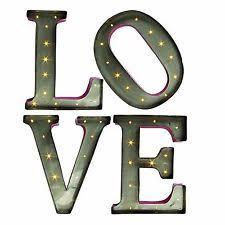 Home Decor Plaques Unbranded Love Letter Home Décor Plaques U0026 Signs Ebay