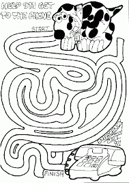 internet safety coloring page kids coloring