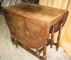 Oak Drop Leaf Table Woodhouse Restoration