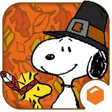 snoopy thanksgiving just saying snoopy