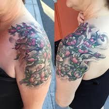 top 30 japanese cherry blossom tattoo designs