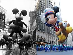 the technological evolution of the macy s thanksgiving day parade