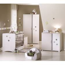 chambre teddy sauthon chambre stella lit 70x140 commode à langer armoire 2 portes