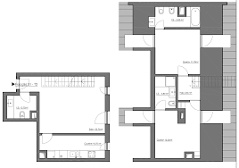 Duplex Floor Plan by Reconversão Urbana Properties Almargem Apartment Type And