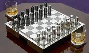 buy chess set ralph lauren sutton carbon fiber chess set