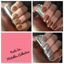 nails inc metallic collection swatches ooh la la nail u0027s blog