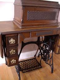 Antique Singer Sewing Machine And Cabinet Beautiful Sewing Machine Cabinets Andrea Schewe Design