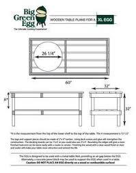 diy big green egg table with concrete top and barn door the