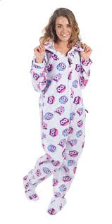 owl footed onesies owl footed pajamas one footie pj