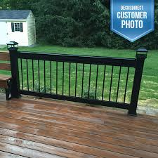 railing image gallery deckorators aluminum decksdirect