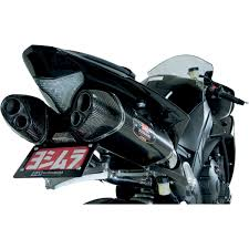 yoshimura trc d slip on exhaust for yzf r1 09 14 solomotoparts com