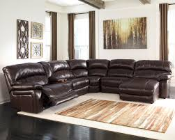heavenly leather sectional sofa with recliners small room pool new