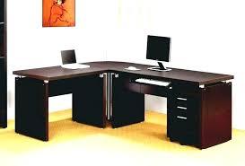 Corner Computer Desk Uk Solid Oak Corner Computer Desk Clicktoadd Me