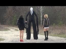 Slender Man Halloween Costume Tallest Slender Man Scare Prank Favorite Videos