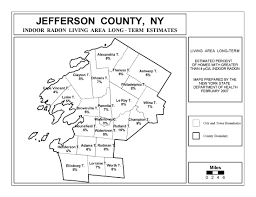 County Map Of Ny Radon New York State Department Of Health Wadsworth Center