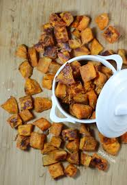 parmesan roasted sweet potatoes emily bites