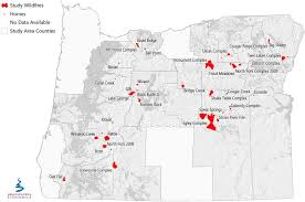 a map of oregon wildfires oregon home building higher temperatures drive price tag