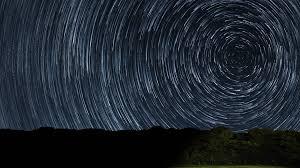 polaris star 4k star trails stunning cosmos polaris north star at center as