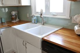 how to install an apron sink in an existing cabinet installing an ikea farmhouse sink weekend craft
