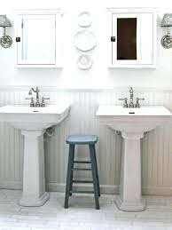 bathroom pedestal sink ideas storage pedestal sink bathroom pedestal sink ideas interesting