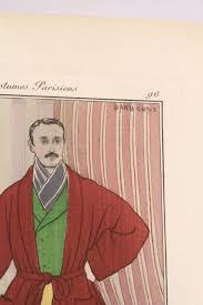 robe de chambre originale costumes parisiens robe de chambre modèle homme pl 96 journal