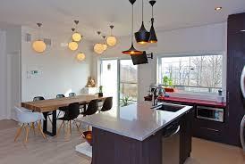 eclairage pour ilot de cuisine luminaire ilot cuisine photo ilot moderne cuisine angle