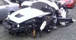 corvette car crash 2014 corvette stingray wrecked beyond recognition gm authority