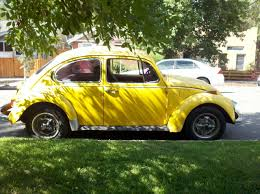 old volkswagen yellow down on the mile high street volkswagen beetle the truth about cars