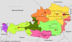 Austria Map Austria Maps Map Of Austria