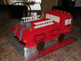 14 best fire truck cakes images on pinterest birthday cakes