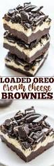 loaded oreo cream cheese brownies averie cooks