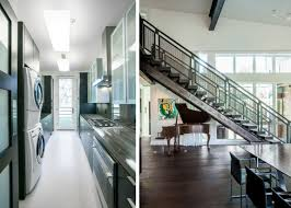 laundry in kitchen ideas enchanting lucky john interior with natural wood floor