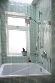 105 0 custom tub screen with fixed wall brackets jpg 575