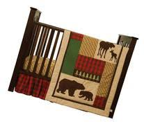 Northwoods Crib Bedding Northwoods Nursery Decor Searchub
