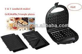 A13 Passed 3 In 1 Belgian Waffle Maker Sandwich Oven Grill Maker